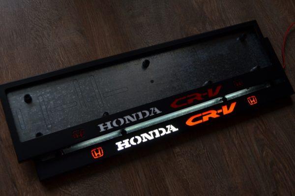 рамка под номера HONDA C-RV