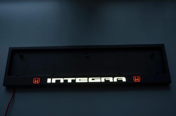 рамка под номера HONDA INTEGRA