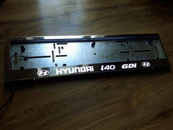 рамка под номера HYUNDAI I40 GDI