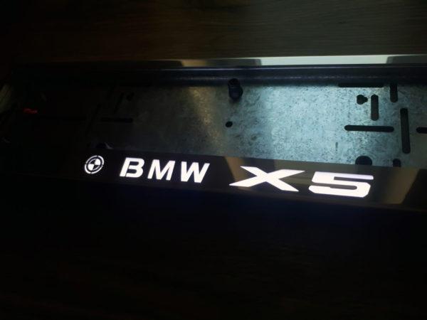 рамка под номера BMW X5