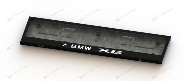 рамка под номера BMW X6