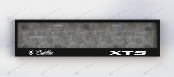 рамка под номера CADILLAC XT5