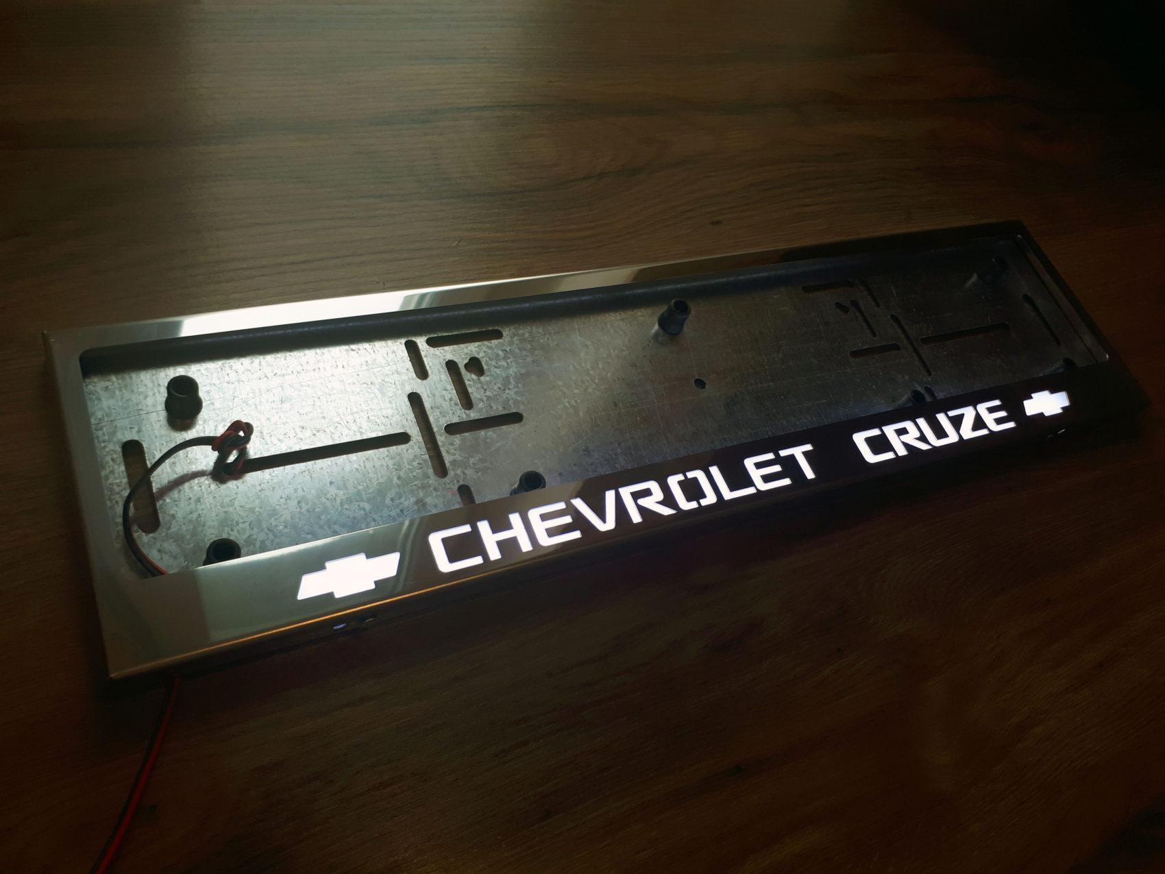 рамка под номера CHEVROLET