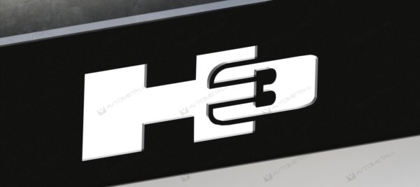 рамка под номера HUMMER H3