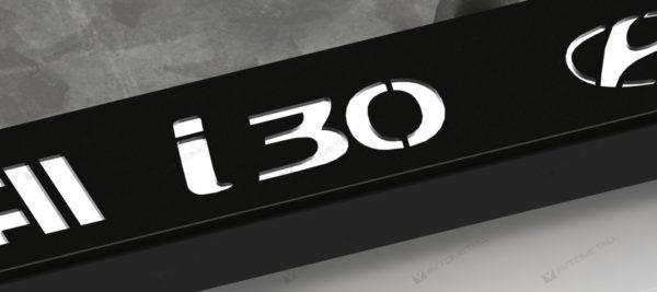 рамка под номера HYUNDAI I30