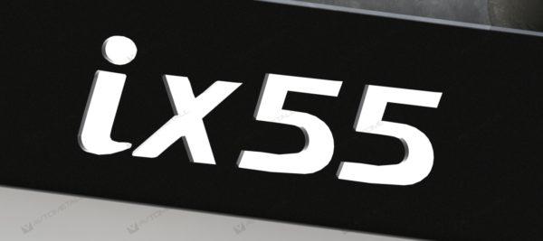рамка под номера HYUNDAI IX55