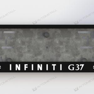 рамка под номера INFINIT G 37