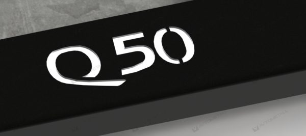 рамка под номера INFINITI Q50