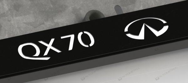 рамка под номера INFINITI QX70