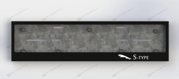рамка под номера JAGUAR S-TYPE