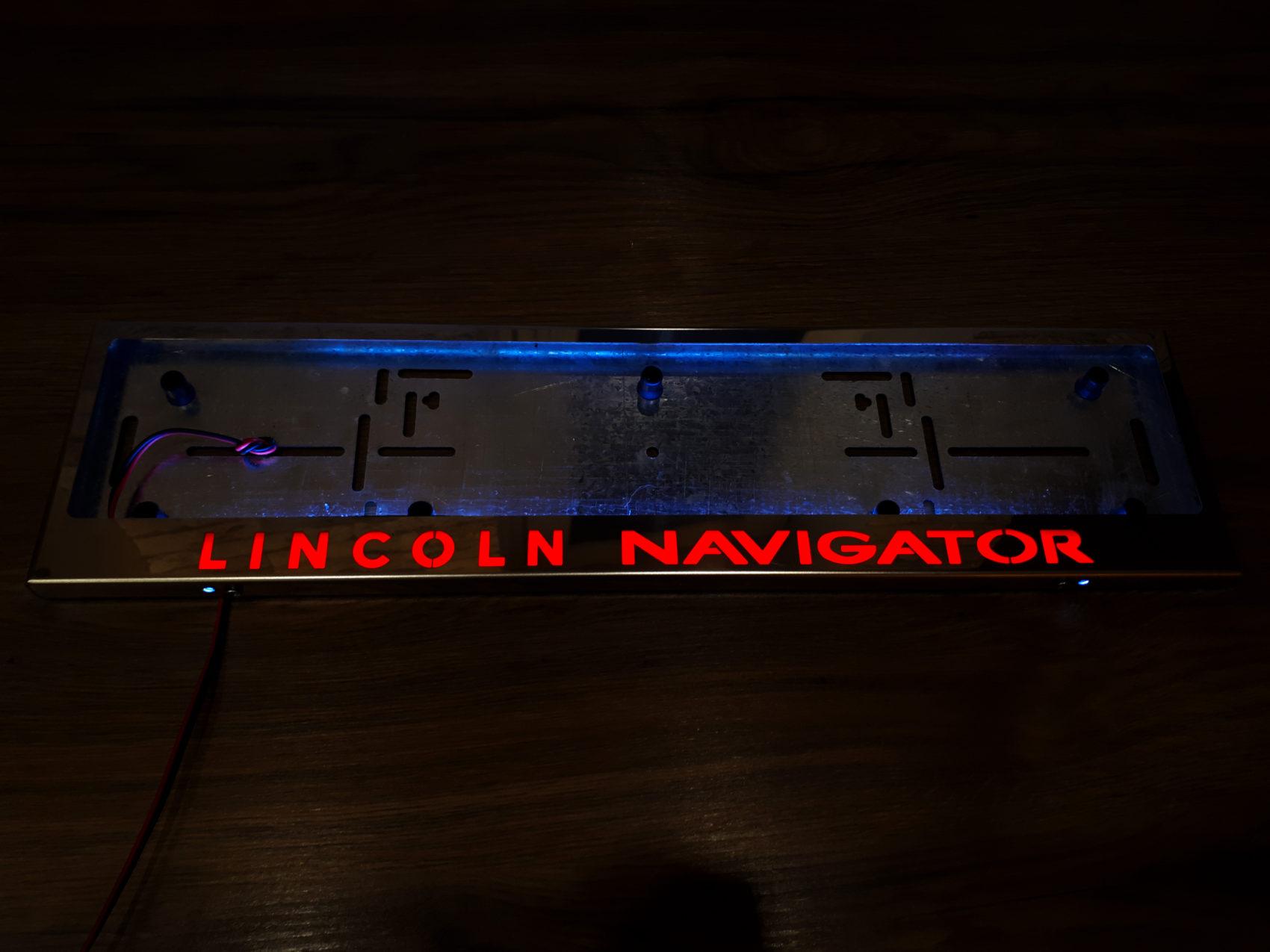 рамка под номера LINCOLN