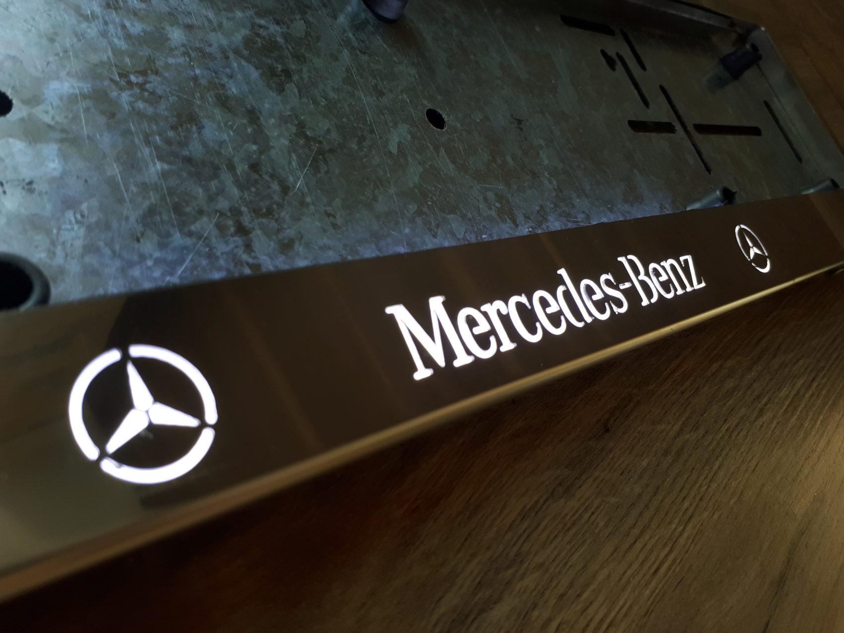 рамка под номера MERCEDES-BENZ