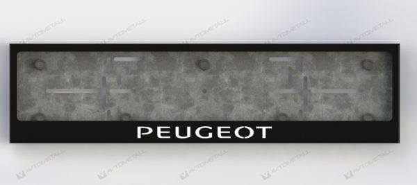 рамка под номера PEUGEOT