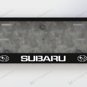 рамка под номера SUBARU