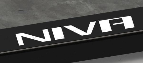 рамка под номера CHEVROLET NIVA
