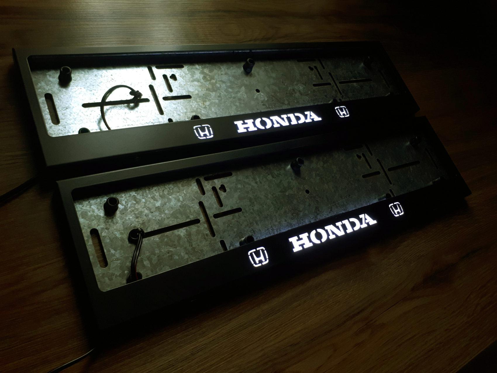 рамка под номера HONDA