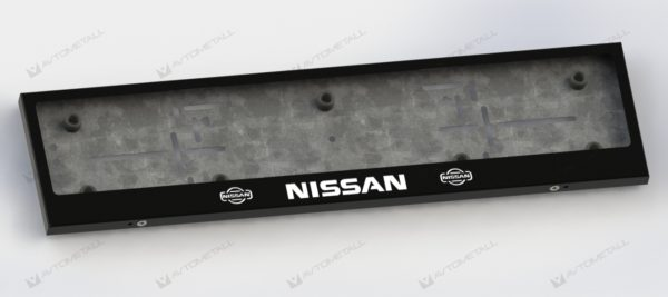 рамка под номера NISSAN