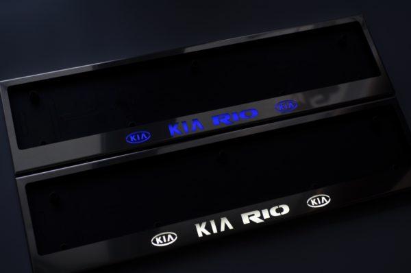 рамка под номера KIA RIO