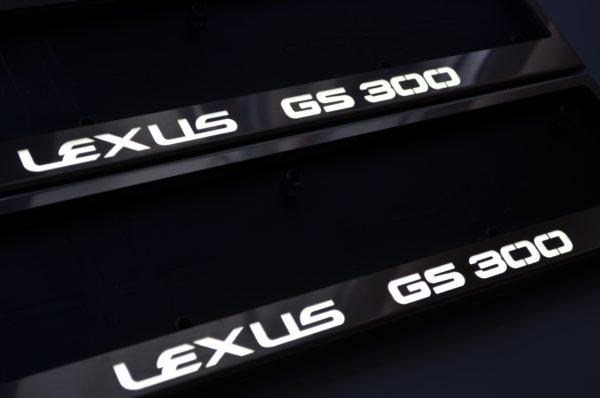 рамка под номера LEXUS GS300
