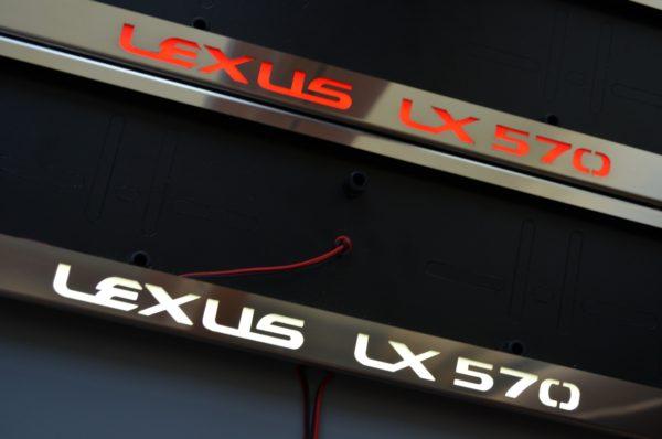 рамка под номера LEXUS LX570
