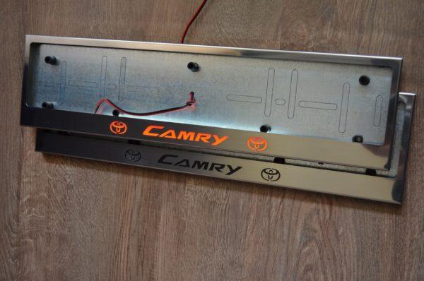 рамка под номера TOYOTA CAMRY V1