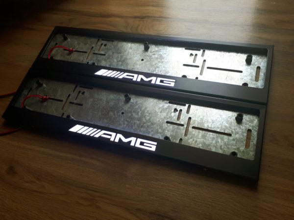 рамка под номера MERCEDES AMG