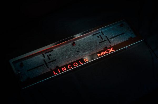 рамка под номера LINCOLN MKX