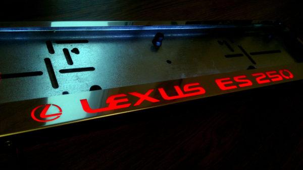 рамка под номера LEXUS ES250