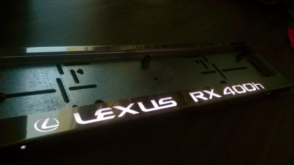 рамка под номера LEXUS RX400H