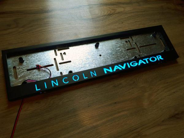 рамка под номера LINCOLN NAVIGATOR