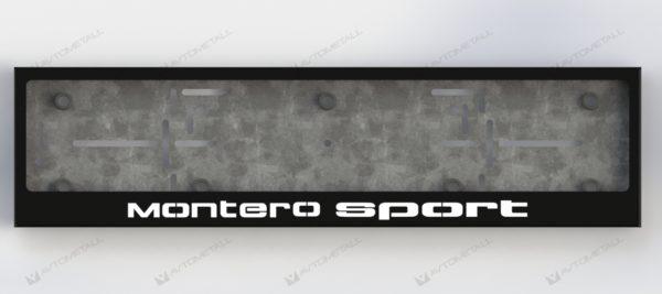 рамка под номера MMC MONTERO SPORT