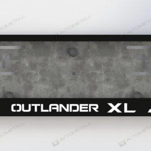 рамка под номера MITSUBISHI OUTLANDER XL