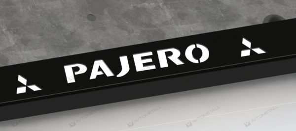 рамка под номера MMC PAJERO