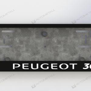 рамка под номера PEUGEOT 3008