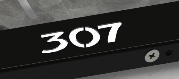 рамка под номера PEUGEOT 307