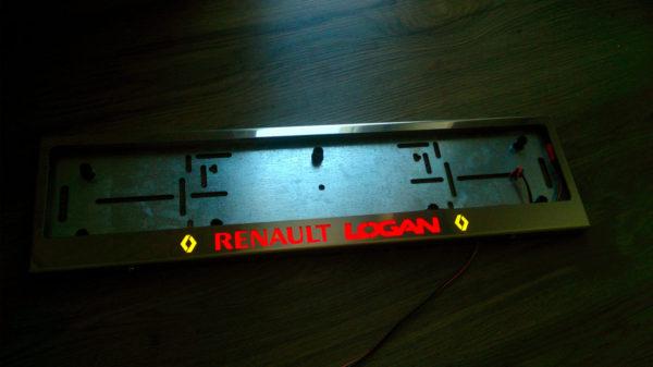 рамка под номера RENAULT LOGAN