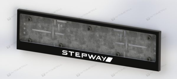 рамка под номера RENAULT STEPWAY