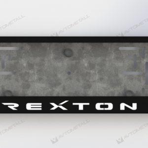 рамка под номера SSANGYONG REXTON