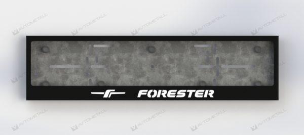 рамка под номера SUBARU FORESTER