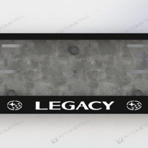 рамка под номера SUBARU LEGACY V1