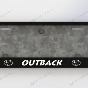 рамка под номера SUBARU OUTBACK V1