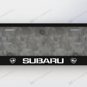рамка под номера SUBARU PIG