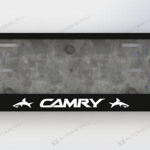 рамка под номера TOYOTA CAMRY V2