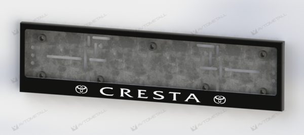 рамка под номера TOYOTA CRESTA