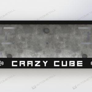 рамка под номера NISSAN CRAZY CUBE
