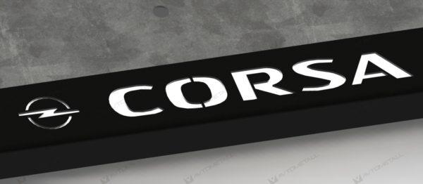 рамка под номера OPEL CORSA